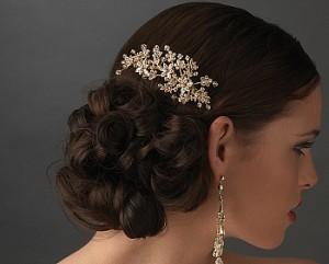 Shiny Bridal Comb