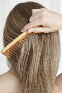 Wide Tooth Comb For Split Ends